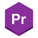 Premiere DarkMagenta icon