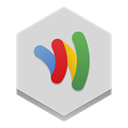wallet, google LightGray icon