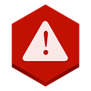 warning Firebrick icon