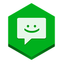 Message ForestGreen icon