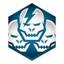 multi, shadowgun Black icon