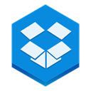 dropbox DodgerBlue icon