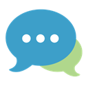 hipchat SteelBlue icon