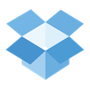 dropbox Black icon