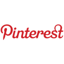 pinterest Black icon