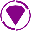 Bejeweled, twist DarkMagenta icon