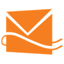 Hotmail, Alt, Live DarkOrange icon