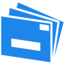 mail, Live DodgerBlue icon