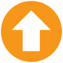 office, Center, upload, Ms DarkOrange icon