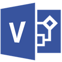 visio DarkSlateBlue icon