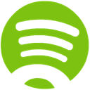 Alt, Spotify YellowGreen icon
