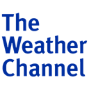 Channel, weather Black icon