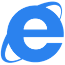 Explorer, internet DodgerBlue icon