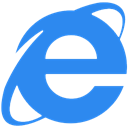 internet, Explorer DodgerBlue icon