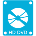 Dvd, Hd DarkTurquoise icon