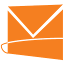 Hotmail, Live DarkOrange icon