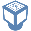 Virtualbox SteelBlue icon