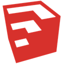 google, sketchup Crimson icon