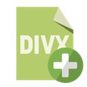 Format, Add, Divx, File DarkKhaki icon