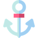 navy, tattoo, Tools And Utensils, sail, Anchor, sailing, Anchors Black icon