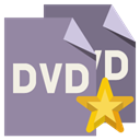 star, File, Dvd, Format LightSlateGray icon