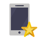 phone, star DarkSlateGray icon