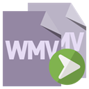 File, Format, right, Wmv LightSlateGray icon