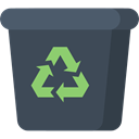 Garbage, Tools And Utensils, recycle bin, Trash, Can DarkSlateGray icon