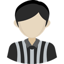 Avatar, referee, Sports And Competition, athletic, Sporty, people DarkSlateGray icon