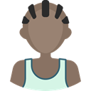 athletic, people, Man, Avatar, Sports And Competition, Boy, Sporty, Basketball Player Gray icon