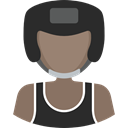 Avatar, people, athletic, Sporty, boxer, Sports And Competition, fighter DarkSlateGray icon