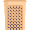 waste, Basket, Bin, Flasket, Furniture And Household BurlyWood icon