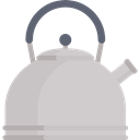 hot drink, tea, food, kitchenware, kettle, Coffee Pot, Furniture And Household, Tools And Utensils LightGray icon