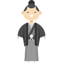 people, japanese, traditional, Ethnic, Culture, japan Black icon