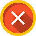 cancel, Error, signs, prohibition, forbidden, interface, Close, cross Tomato icon