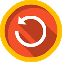 Direction, Reload, Orientation, Multimedia Option, directional, Arrows, refresh Firebrick icon