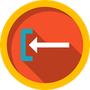 previous, directional, Multimedia Option, Music And Multimedia, Back, Direction, Arrows Firebrick icon