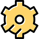 Tools And Utensils, cogwheel, Gear, configuration, settings Khaki icon