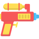 summer, vacations, childhood, Water Gun Tomato icon