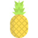 food, Food And Restaurant, Foods, pineapple, Fruit, pineapples, organic, natural, fruits, Healthy Food Black icon