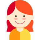 woman, young, Avatar, user, people, Girl, profile BlanchedAlmond icon