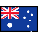 Australia, flags, flag, Nation, Country MidnightBlue icon
