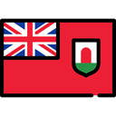 flag, Nation, Country, Bermuda, flags Crimson icon