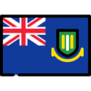 flags, flag, Dependency, British Virgin Islands MidnightBlue icon
