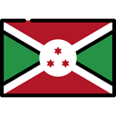 Burundi, flag, Country, Nation, flags Firebrick icon