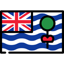 Dependency, flags, flag, British Indian Ocean Territory MidnightBlue icon