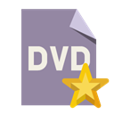 Format, File, star, Dvd LightSlateGray icon