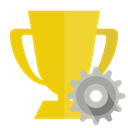 trophy, Gear Gold icon
