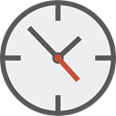 miscellaneous, time, watch, square, tool, Clock, Tools And Utensils WhiteSmoke icon