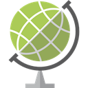 Maps And Flags, Planet Earth, Earth Globe, Earth Grid, planet, Geography DarkKhaki icon